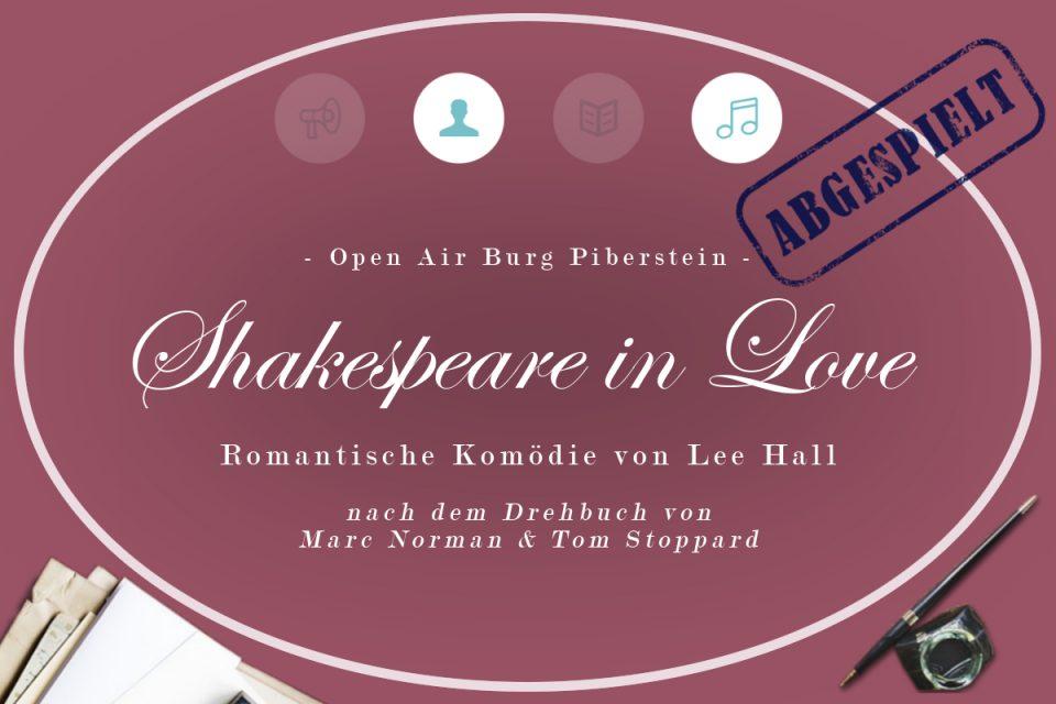 Shakespeare in Love 7